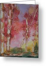 Fall Sunshine Greeting Card