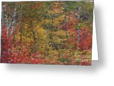 Fall Tapestry Greeting Card