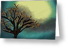Fall Time Break  Greeting Card