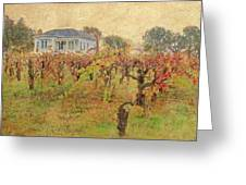 Fall Vines Greeting Card
