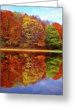 Fall Waters Greeting Card