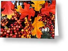 Fall Wreath Greeting Card