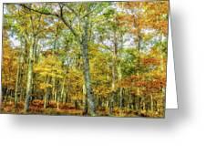 Fall Yellow Greeting Card