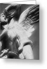Fallen Angel Vertical Greeting Card