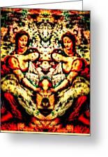 Fallen Angels 1503 Davinci Greeting Card