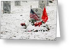 Fallen Heroes Greeting Card