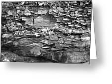 Fallen Rocks Greeting Card