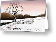 Fallen Tree Stainland Greeting Card