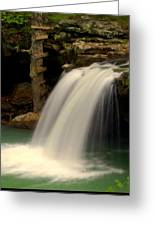 Falling Falls Greeting Card