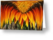 Falling Fire Greeting Card