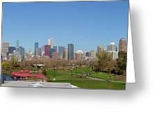 Falling For Chicago Greeting Card