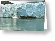 Falling Ice 8421 Greeting Card