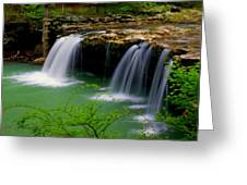 Falling Water Falls Greeting Card