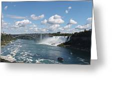 Falls- American Side  Greeting Card