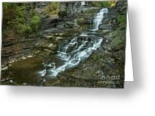 Falls Creek Gorge Trail Greeting Card