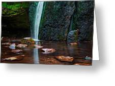 Falls In Bluff Country Greeting Card
