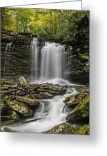 Falls Of Hills Creek 2  Greeting Card
