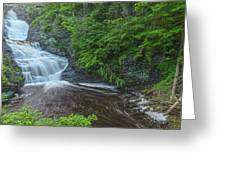 Falls Of Mystery Greeting Card