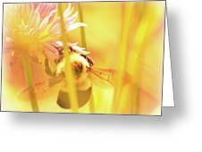 Fame Is A Bee Greeting Card