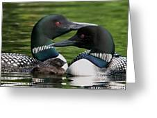 Family - Famille Greeting Card by Michel Legare