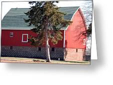Family Barn Greeting Card