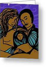 Family Is A Sanctuary Greeting Card