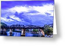 Famous Bridge Greeting Card