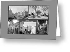Famous New Orleans Cemeteries  Greeting Card