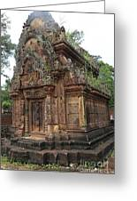 Famous Temple Banteay Srei Cambodia Asia  Greeting Card