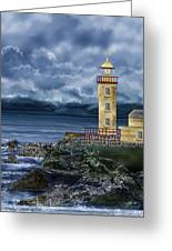 Fanad Head Lighthouse Ireland Greeting Card
