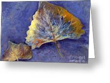 Fanciful Leaves Greeting Card
