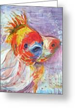 Fancy Fish Greeting Card