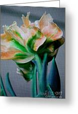 Fancy Tulip Greeting Card