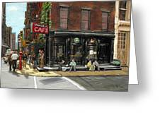 Fanelli Cafe Greeting Card