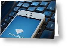 Fantacy Optimized Ecommerce Platform Greeting Card