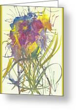 Fantasia De Flor Greeting Card
