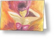 Fantasia De Mujer Greeting Card