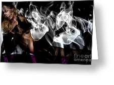 Fantasies In Smoke I Greeting Card