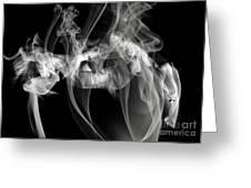 Fantasies In Smoke Iv Greeting Card
