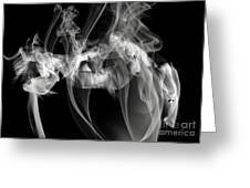 Fantasies In Smoke Iv Greeting Card