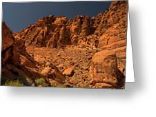 Fantastic Landscape Valley Of Fire Greeting Card