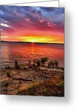 Fantastic Sky Colors Greeting Card