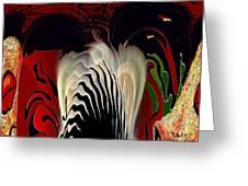 Fantasy Abstract Greeting Card