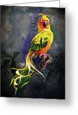 Fantasy Bird Greeting Card
