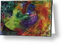 Fantasy Bird Greeting Card