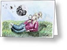 Fantasy Bubbles Greeting Card