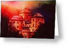 Fantasy Castle For Mandy Maxwell H B Greeting Card
