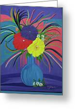 Pink And Purple Passion Greeting Card