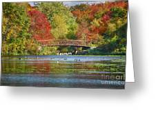 Fantasy Foliage Greeting Card