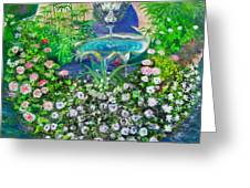 Fantasy Fountain Greeting Card